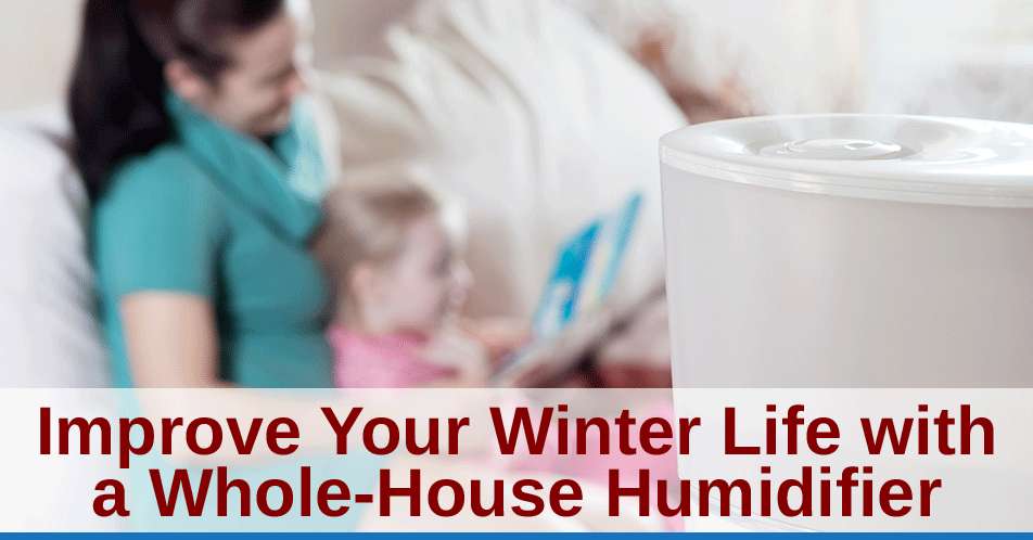 Improve Your Winter Life with a Whole-House Humidifier